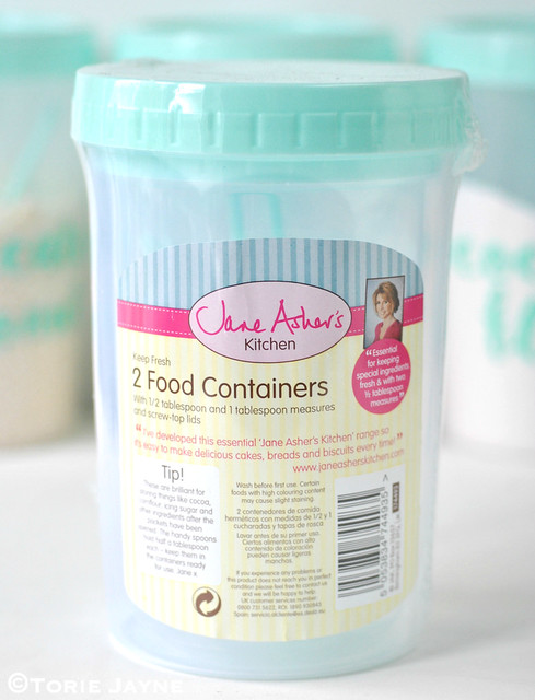 Jane Asher S 2 Food Containers Torie Jayne