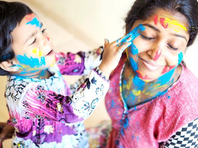Holi the festival of colours in India