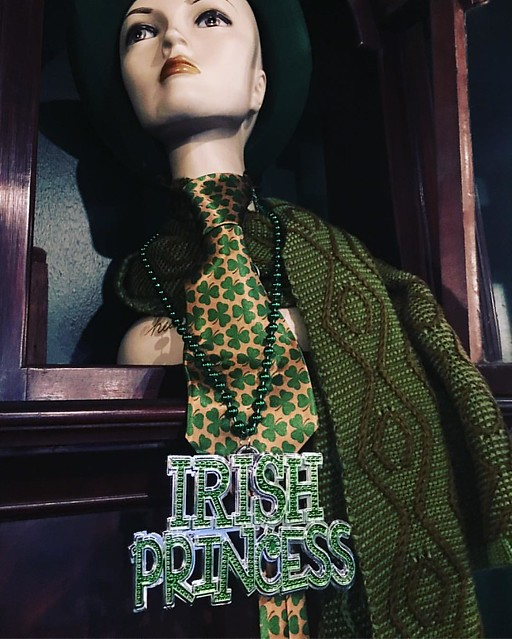 Irish knitting princess ☘️☘️☘️