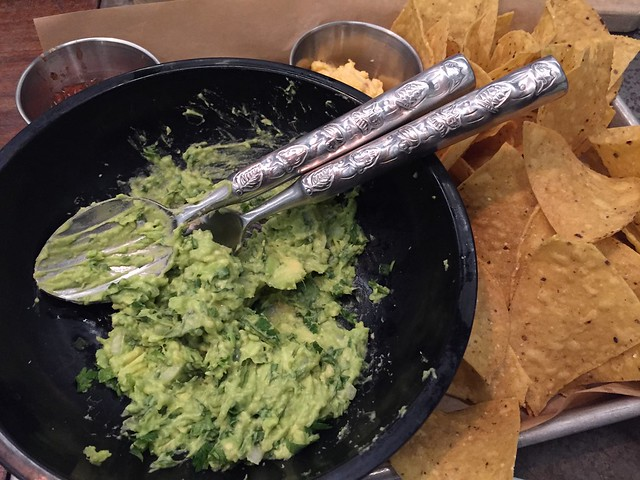 Tableside guacamole - Farmers Fishers Bakers