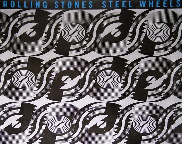 """Rolling Stones Steel Wheels 12"""" Vinyl LP"""