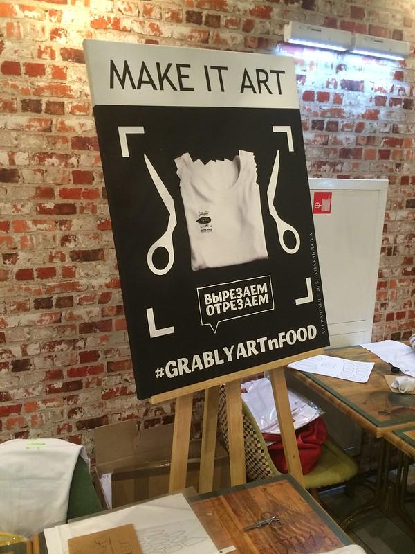 Grably food n art
