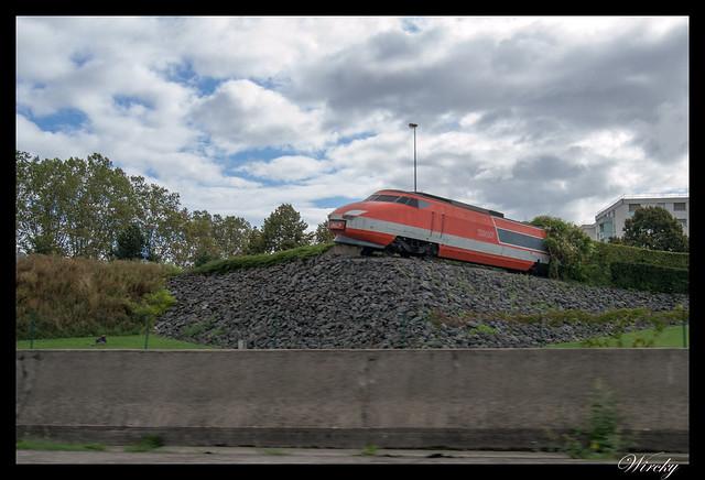 Selva Negra Alsacia Estrasburgo Karlsruhe Baden-Baden - Monumento vagón de tren
