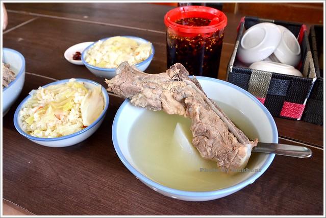 延三夜市美食原汁排骨湯菜飯001-DSC_7809