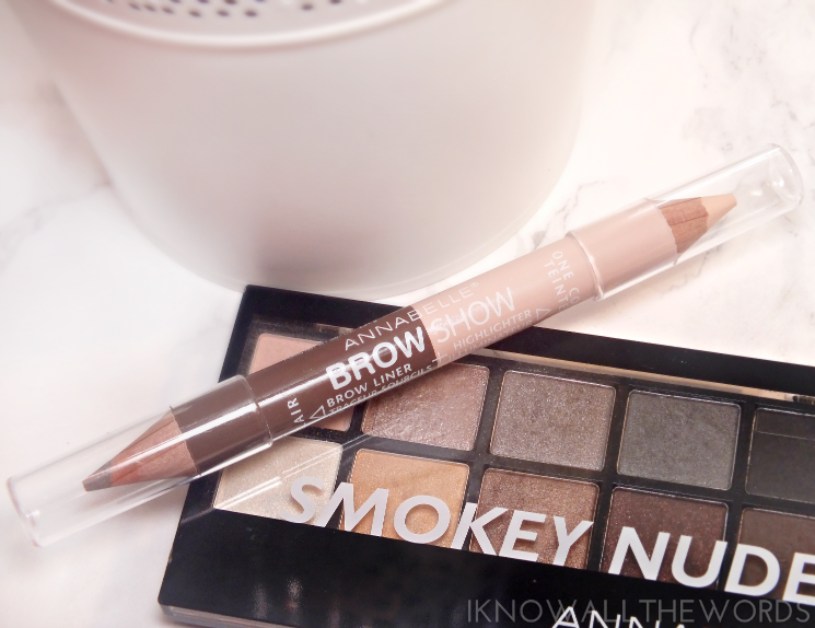 Annabelle Brow Show Brow Liner + Highlight in light (2)