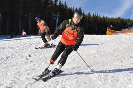 Lyžař Lou Fanánek Hagen