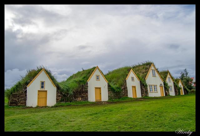 Casas de la Granja Glaumbaer