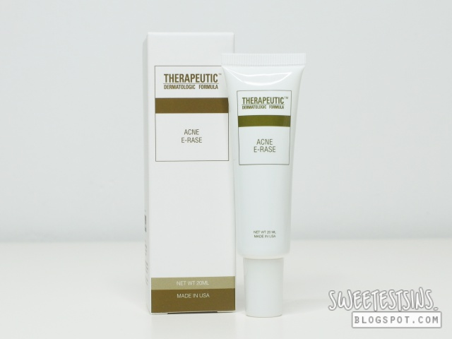 Therapeutic Dermatologic Formula Acne E-rase