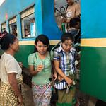 Yangon Myanmar Railway Station