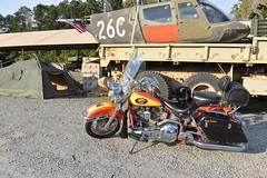 Motorcycle Harley Davidson 1994 Heritage Softail Army Surplus Jade 20151008_7691