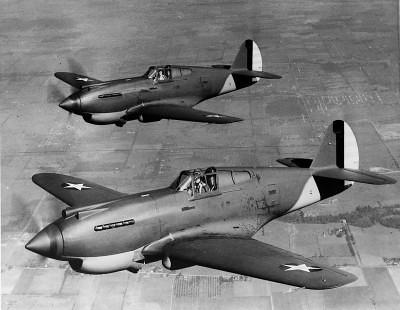 P-40 Warhawk en vol (1939/40)