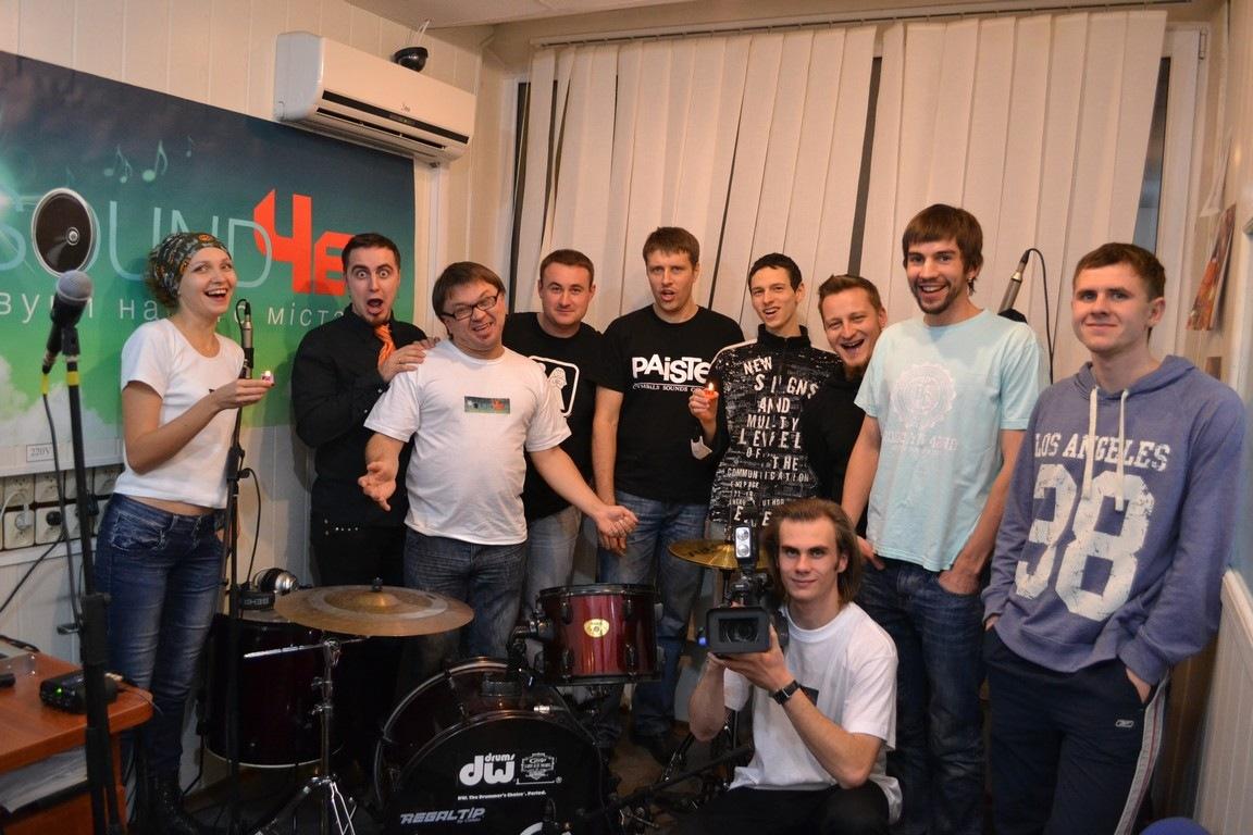 гурт Збіг Обставин, Черкаси, останній ефір на радіо «101 далматин»
