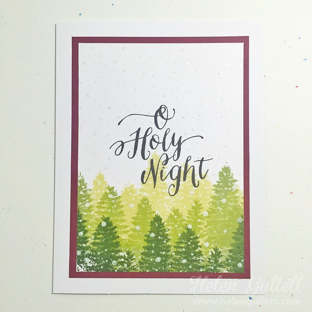 OCC Holiday Style Week 1, Card 1