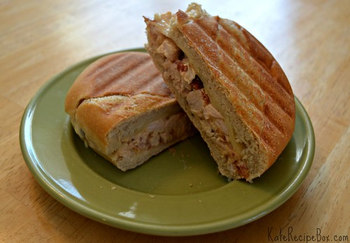 TurkeyPanini | by katesrecipebox