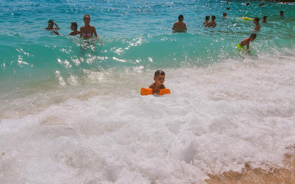 Kaputas Beach baby