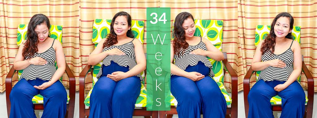 Baby Bump - 34 Weeks