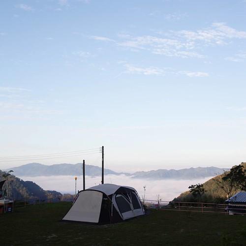 20151107 早安 昨晚是我近期露營睡得最好的一次。 #歐北露