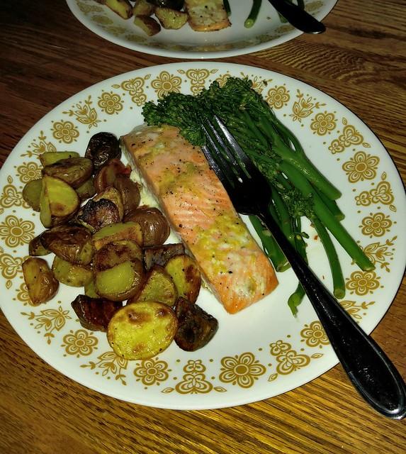 I made dinner