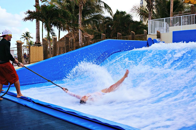 Flowrider Experience at Margaritaville Hollywood