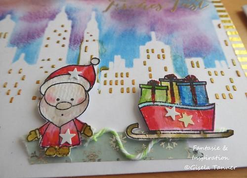 Weihnachtskarten-Ensspurt
