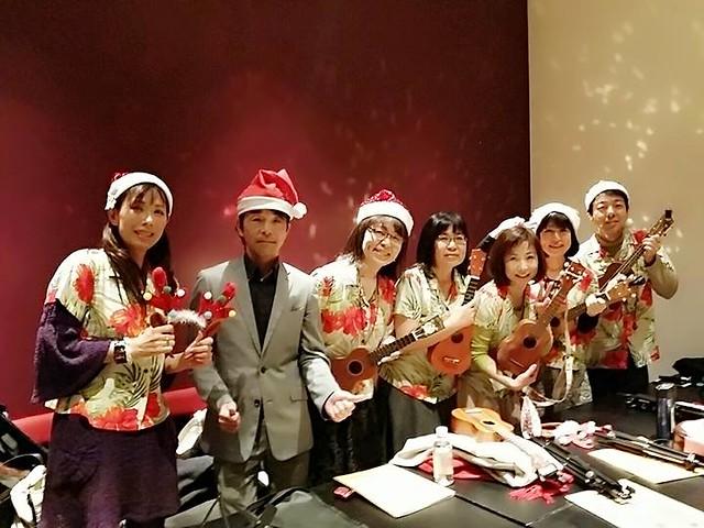 【ボランティア演奏会】日本姿勢と歩き方協会クリスマスパーティー2015.12.13_16