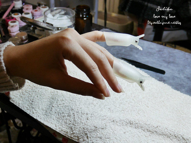 可愛俏皮光療指甲 (2)