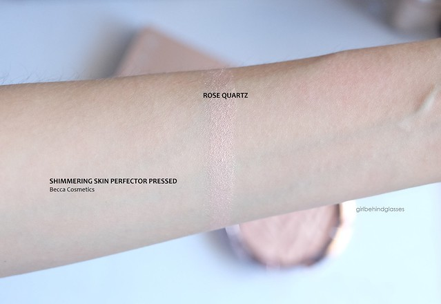 Becca Shimmering Skin Perfector Pressed Rose Quartz swatch