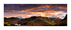 Wetherlam and Pike Of Blisco Sunset - Explore 14.12.2016 No.19