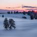 Winter sunset by emil.rashkovski
