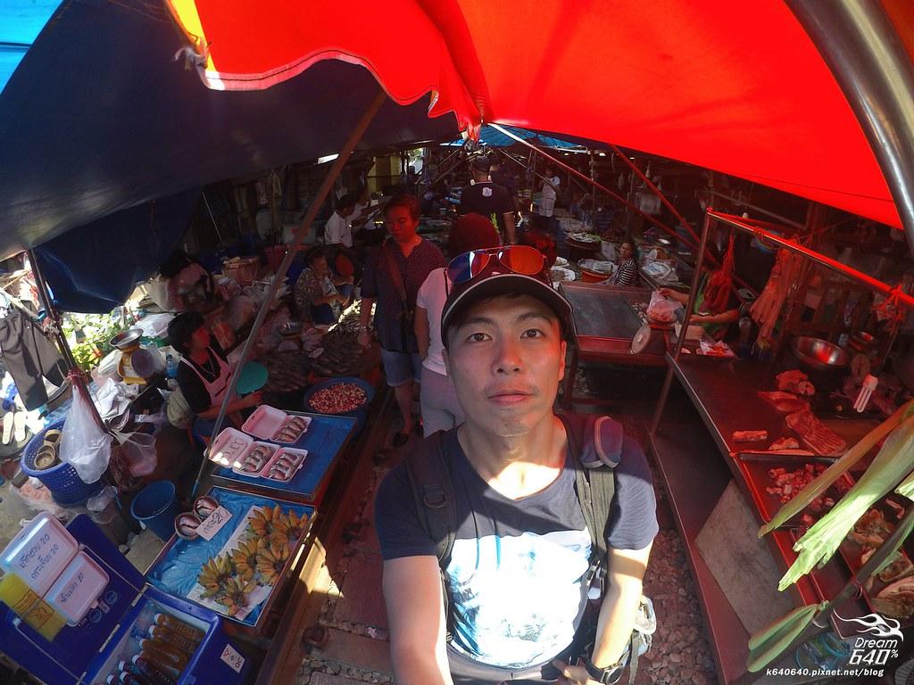 泰國曼谷-水上市場+美功鐵道市集+河濱夜市-66