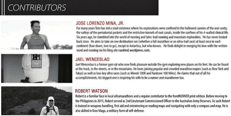 FrontRunner Magazine Ezine: Issue 1 - Robert Watson | robertjohnwatson.com
