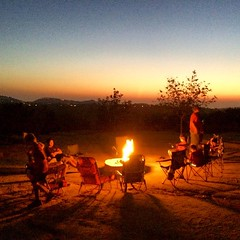 Awesome way to end an awesome day. #cubscouts #camping