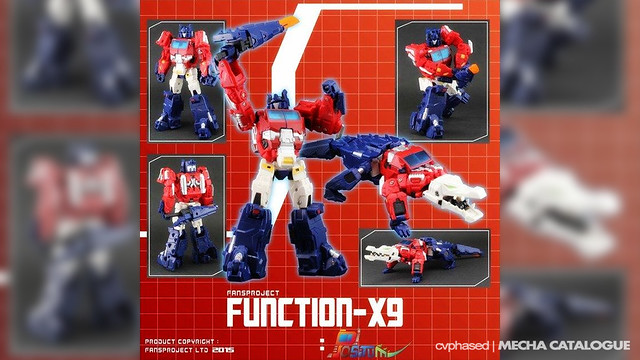 FansProject Function-X9 POSITUM (Alligatorcon)