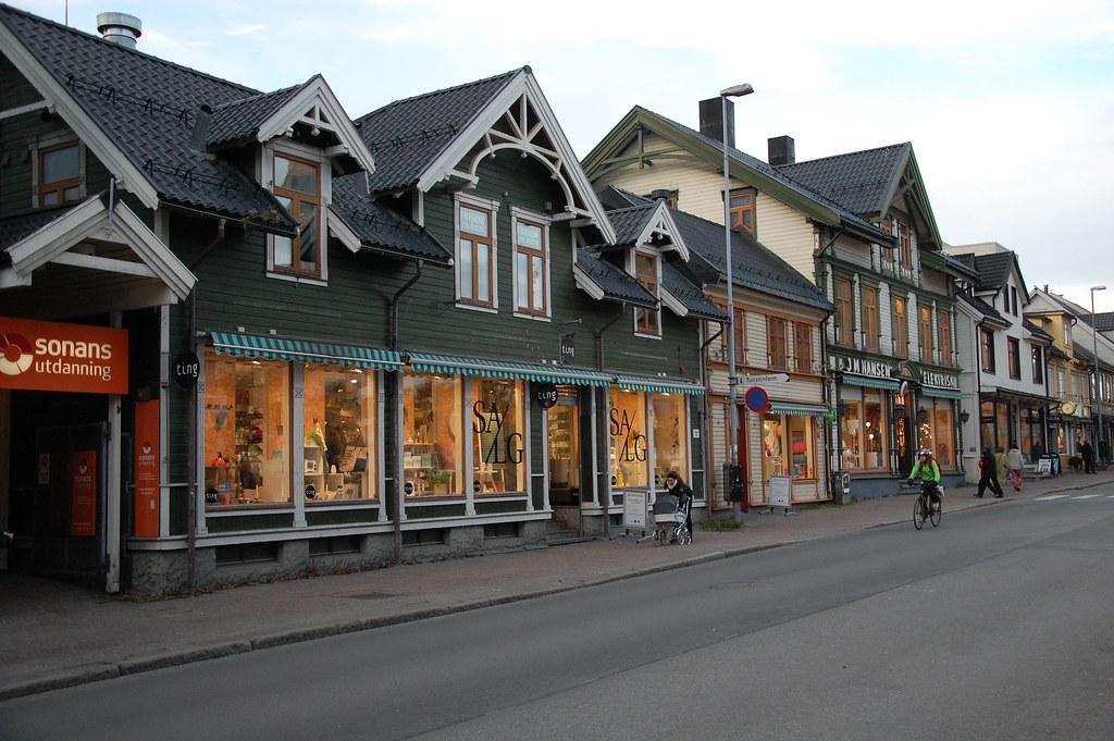 Calle comercial de Tromso