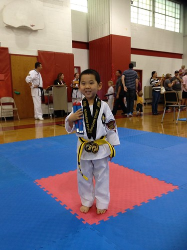 Tiny Tiger with Medals