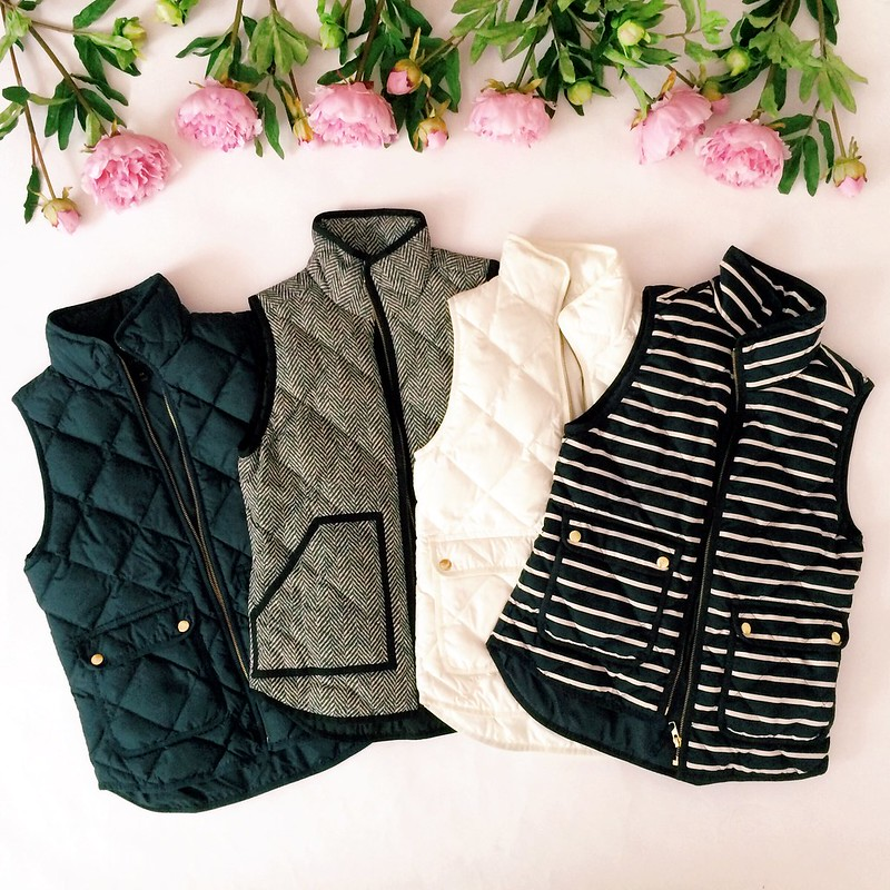 The best Puffer Vests: quilted puffer vests