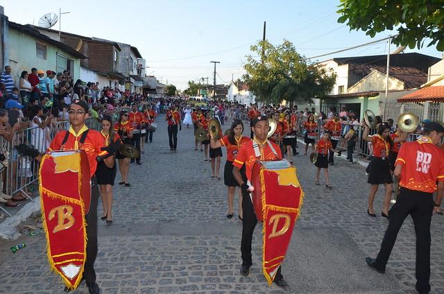 Desfile Civíco da independencia São José da Mata 13/09/2015