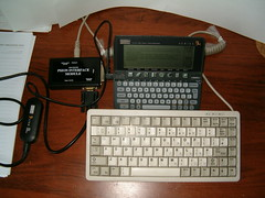 Psion PS/2 keyboard interface