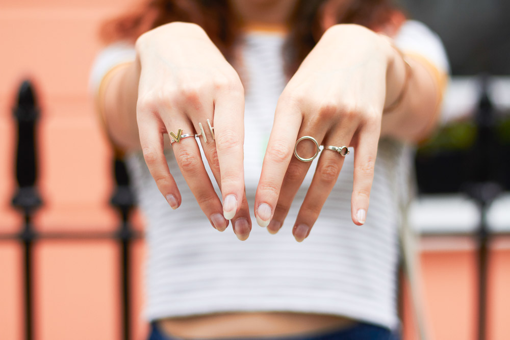 metal rings by magpie on the run