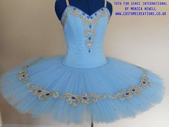 Blue Tutu for Genee International