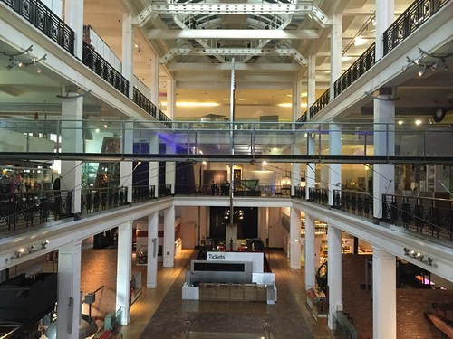 Empty Science Museum