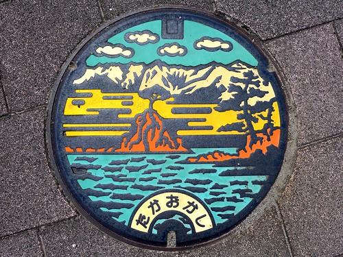 Takaoka Toyama, manhole cover (富山県高岡市のマンホール)