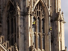 Working on the Minster