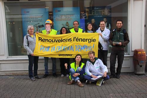 Mobilisation : Pétition pour créer des emplois dans les énergies renouvelables