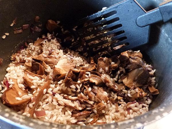 risotto aux cèpes 1