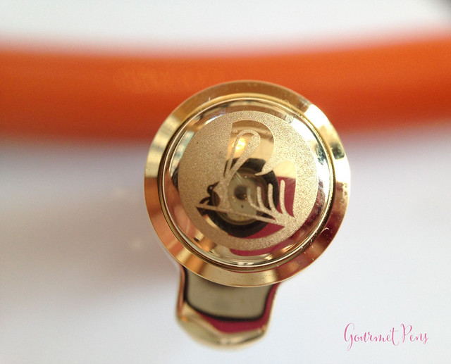 Review Pelikan Souverän M800 Burnt Orange Fountain Pen @AppelboomLaren (12)