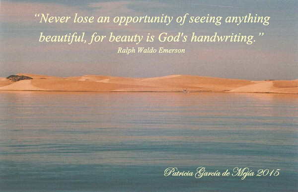 God's handwriting