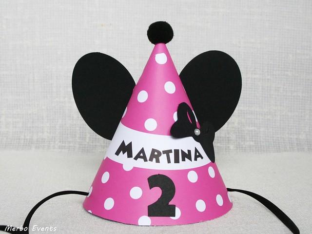 gorrito cumpleaños minnie MErbo Events