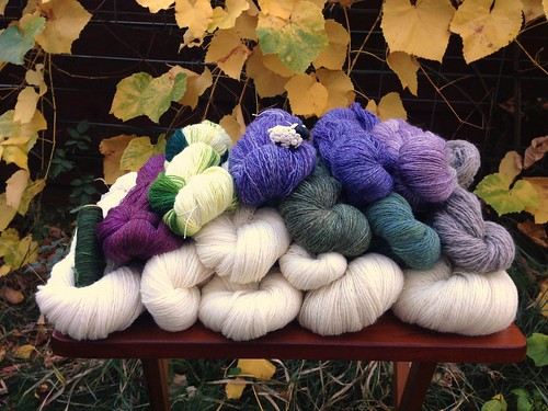 Spinzilla 2015 results:  11,251 yards of yarn equals 34,278 yards of Spinzilla spinning credit