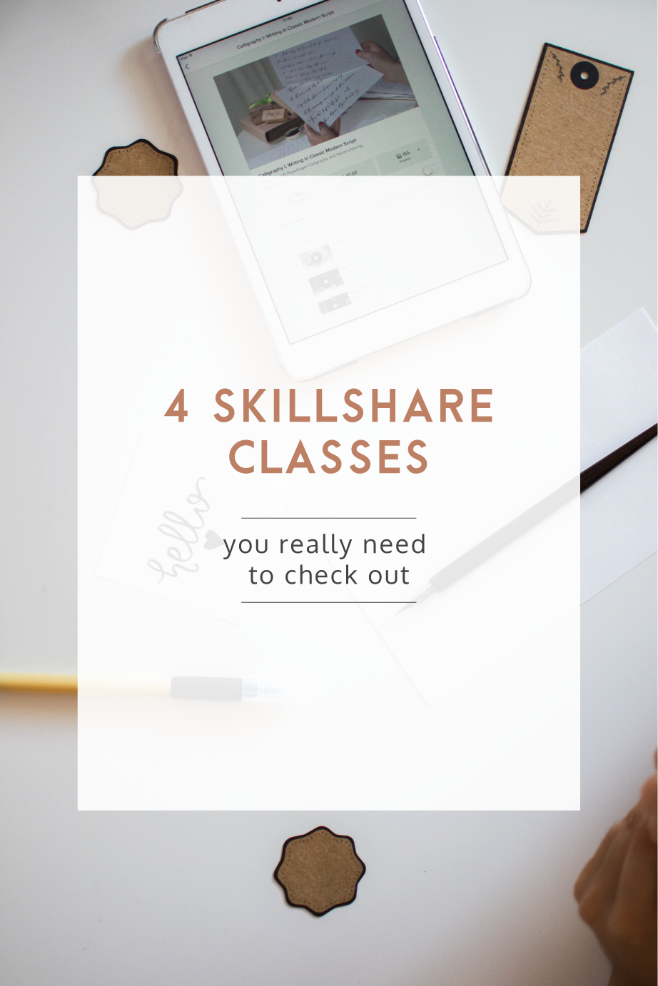 4 Skillshare Classes You Need To Check Out